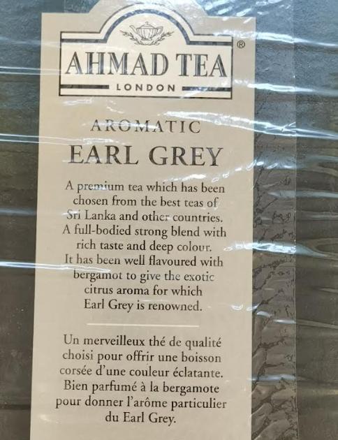 Ahmad Earl Grey Tea Tee -500g-Ceylon Black Tea-loose-1-Tukwila online Market in Germany