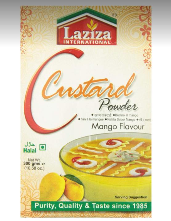 Laziza Custard powder-Mango 300g_Tukwila Online Market in Germany