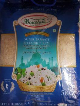 Boustan Super Basmati sella rice