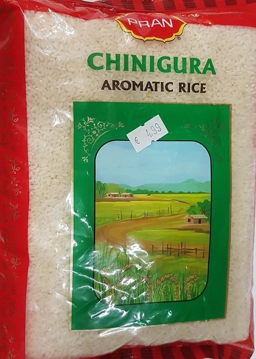 Pran Chinigura Kalijeera Gobingobhog Rice Aromatic Rice