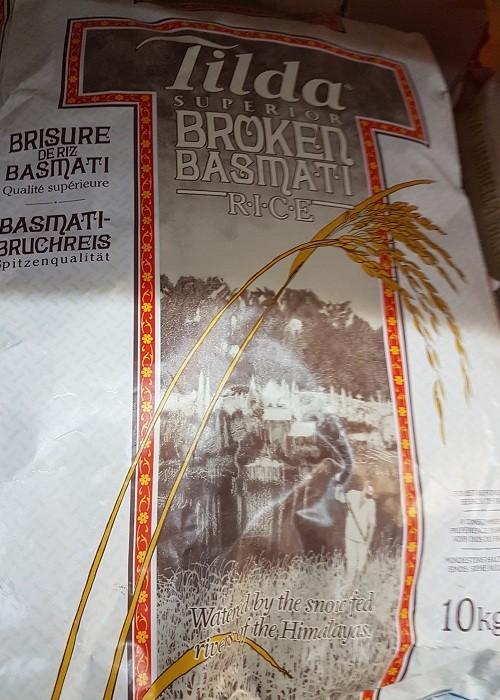 Tilda Broken Basmati Rice 10 kg