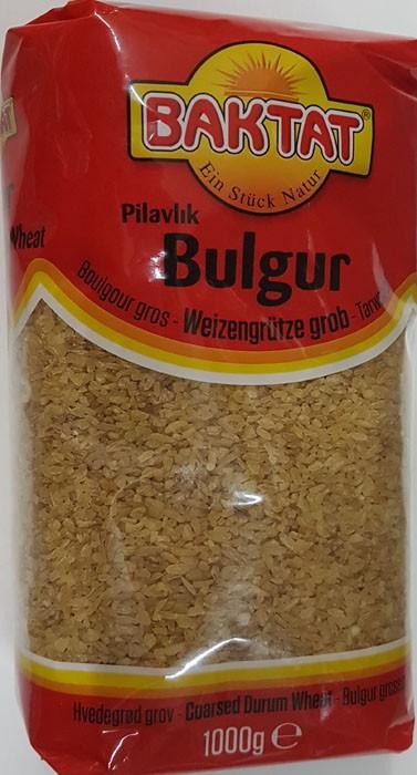BAKTAT Burgul-Pilavlik, Craked Wheat, 1000g