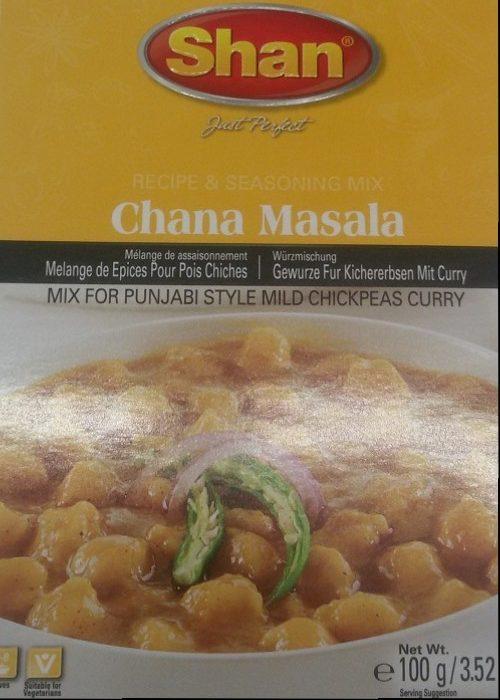 Shan Chana Masala