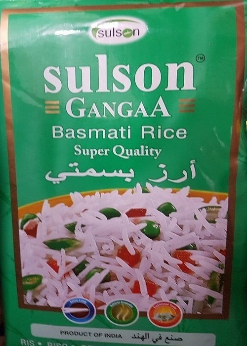 Sulson Ganga Basmati Rice Reis