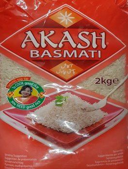 Akash Basmati Rice, 2kg