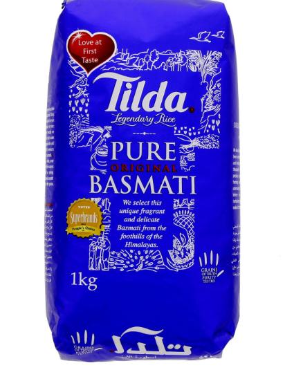 Tilda-basmati-rice 1kg_Tukwila Online Shop
