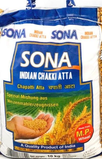 Sona Atta, Chapati , Chakki, Desi Atta, Tukwila Online Indian Grocery Store in Germany