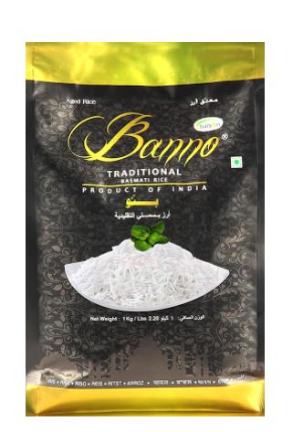 banno-black-basmati-rice-1kg. Tukwila online grocery store in Germany