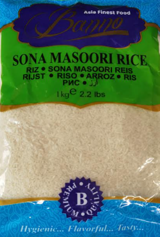 Banno Sona Masoori Rice Reis-1kg_1_Tukwila Online Market in Germany