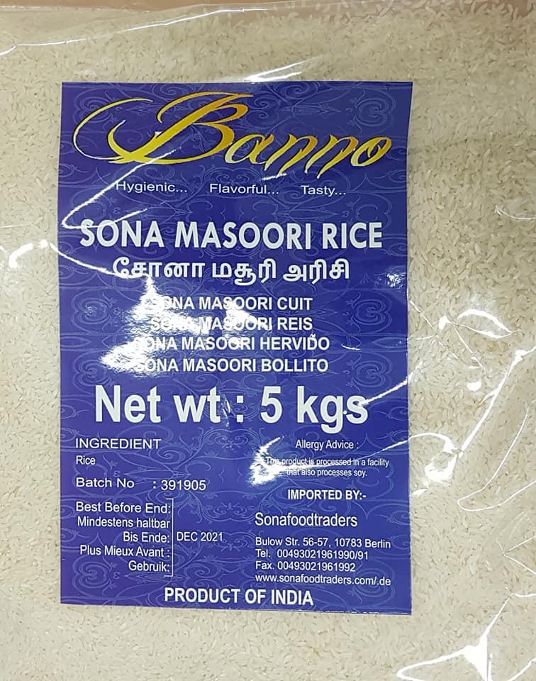 Banno-sona-masoori-tukwila online market