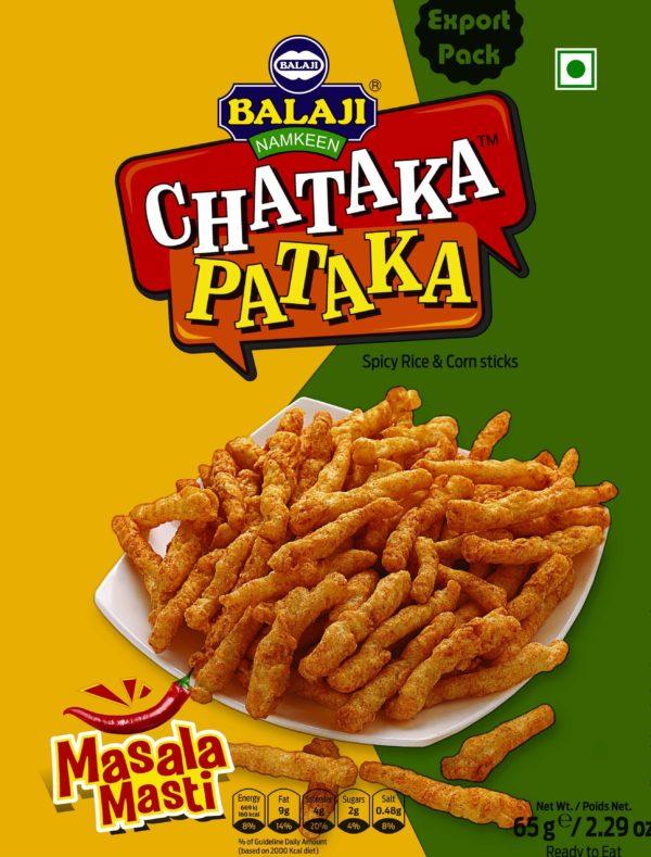 Balaji Chataka Pataka Masala Masti 65g-Tukwila Online Market