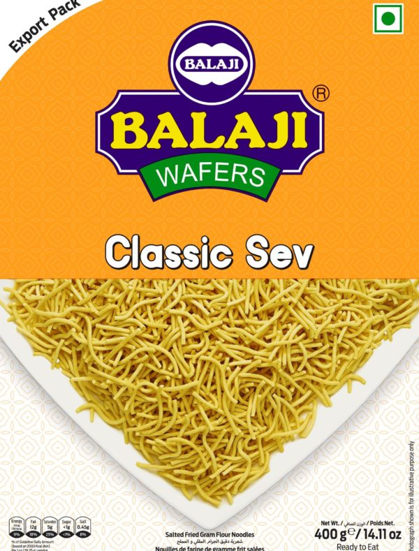 Balaji Classic Sev 400 g-Tukwila Online Market