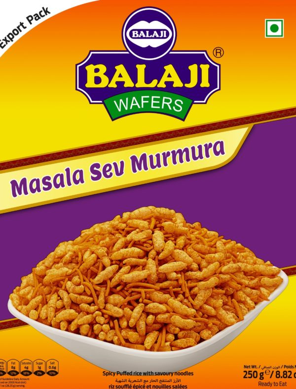 Balaji Masala Sev Murmura 250 g-Tukwila Online Market