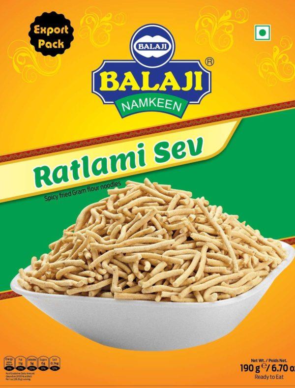Balaji-Ratlami Sev-190g-Tukwila Online Market