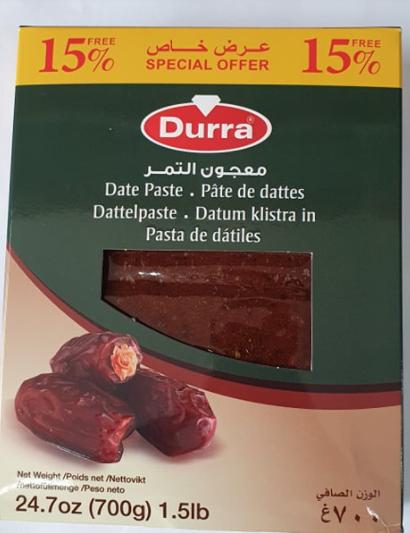 Date Paste - Datteln Pasta-700g-Tukwila online Market-Germany