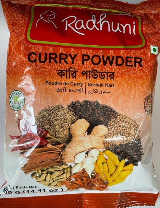 Radhuni Curry powder-400g-1-Tukwila Online Market
