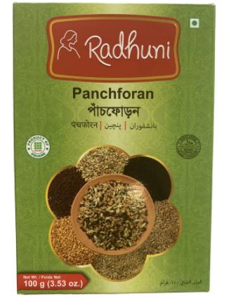 Radhuni Panch puran, phoron-panchforan-100g-Tukwila Online Grocery Market in Germany